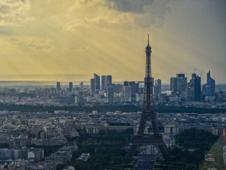 Eclaircie sur Paris