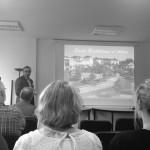 M. Vicente présente le projet d'application citoyenne de St Barthélemy d'Anjou